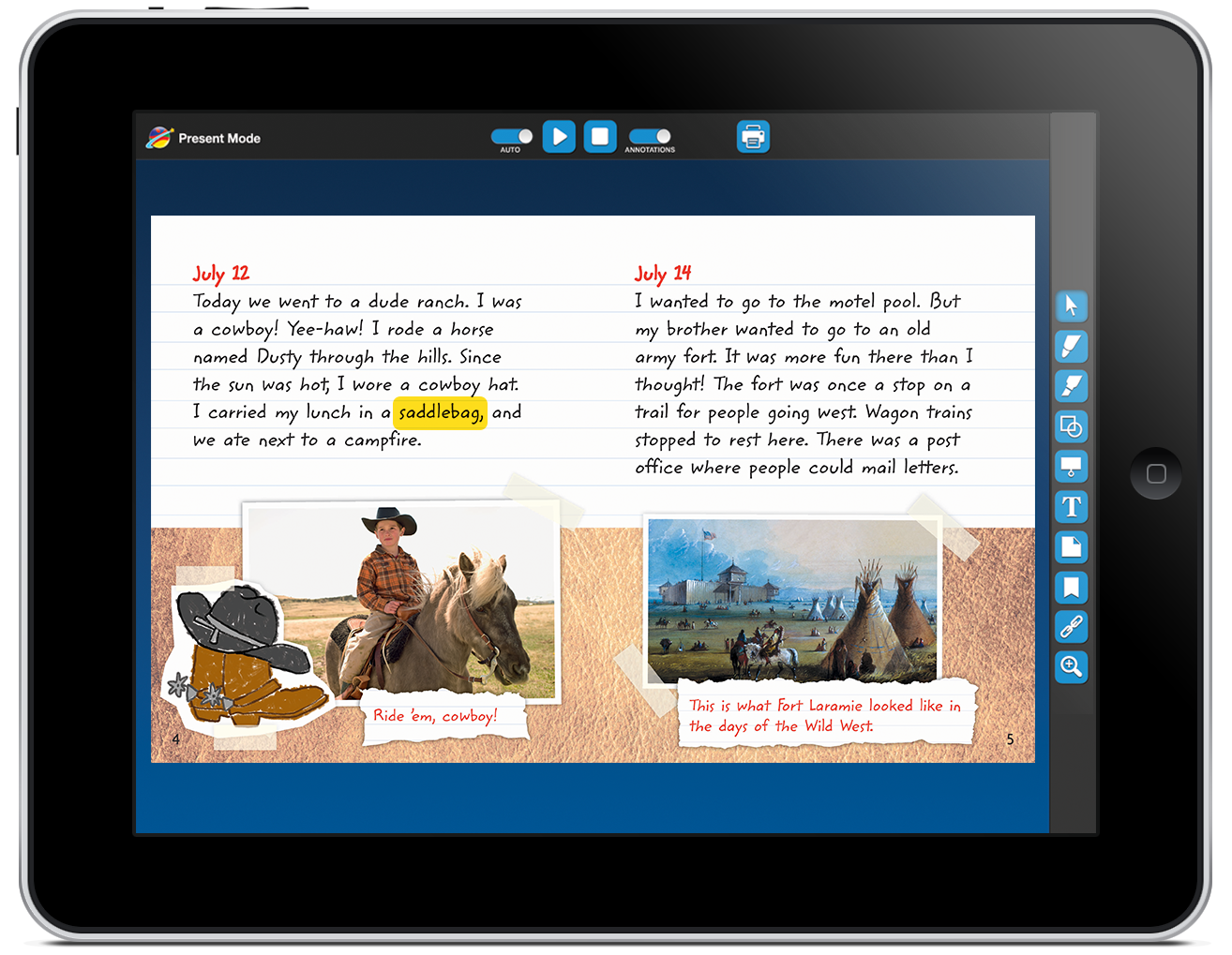 Leveled interactive ebook library benchmark education audio synchronized text highlighting links the spoken word and printed text to extend the experience to listening comprehension fandeluxe Document